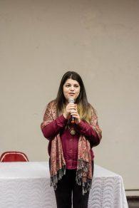 """""""O que nos foi apresentado é uma carta de intenções, onde não há nada de concreto"""", avalia Bárbara (Foto: Gustavo Tempone/UFJF)"""