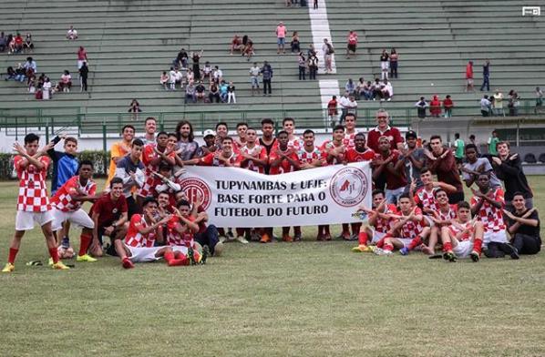 Equipes sub-17 e sub-15 garantiram acesso à elite do futebol mineiro em 2020 (Foto: Reprodução/Instagram)