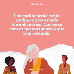 """""""Buscamos auxiliar a pessoa idosa a lidar com esse momento de ficar em casa, de perda de rotina"""", Lara Vilella, membro do Grupo ID"""
