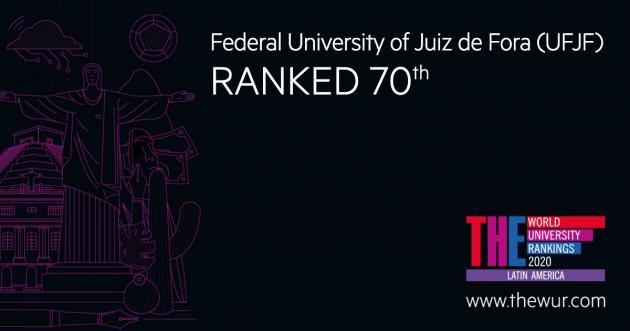 Segundo o Times Higher Education, a Universidade é a 16ª brasileira em citações (Imagem: THE Rankings)