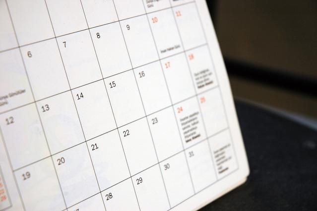 Calendário 2021/1 PEC