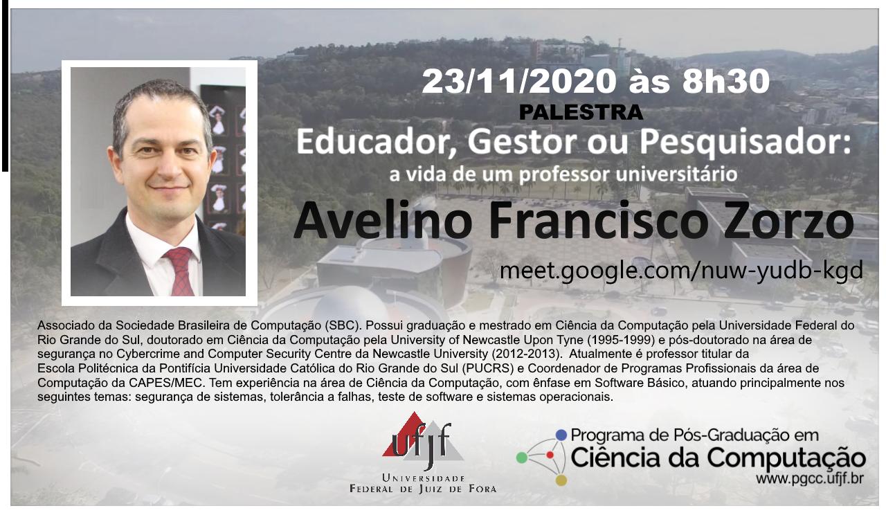 Palestra Prof. Avelino Francisco Zorzo