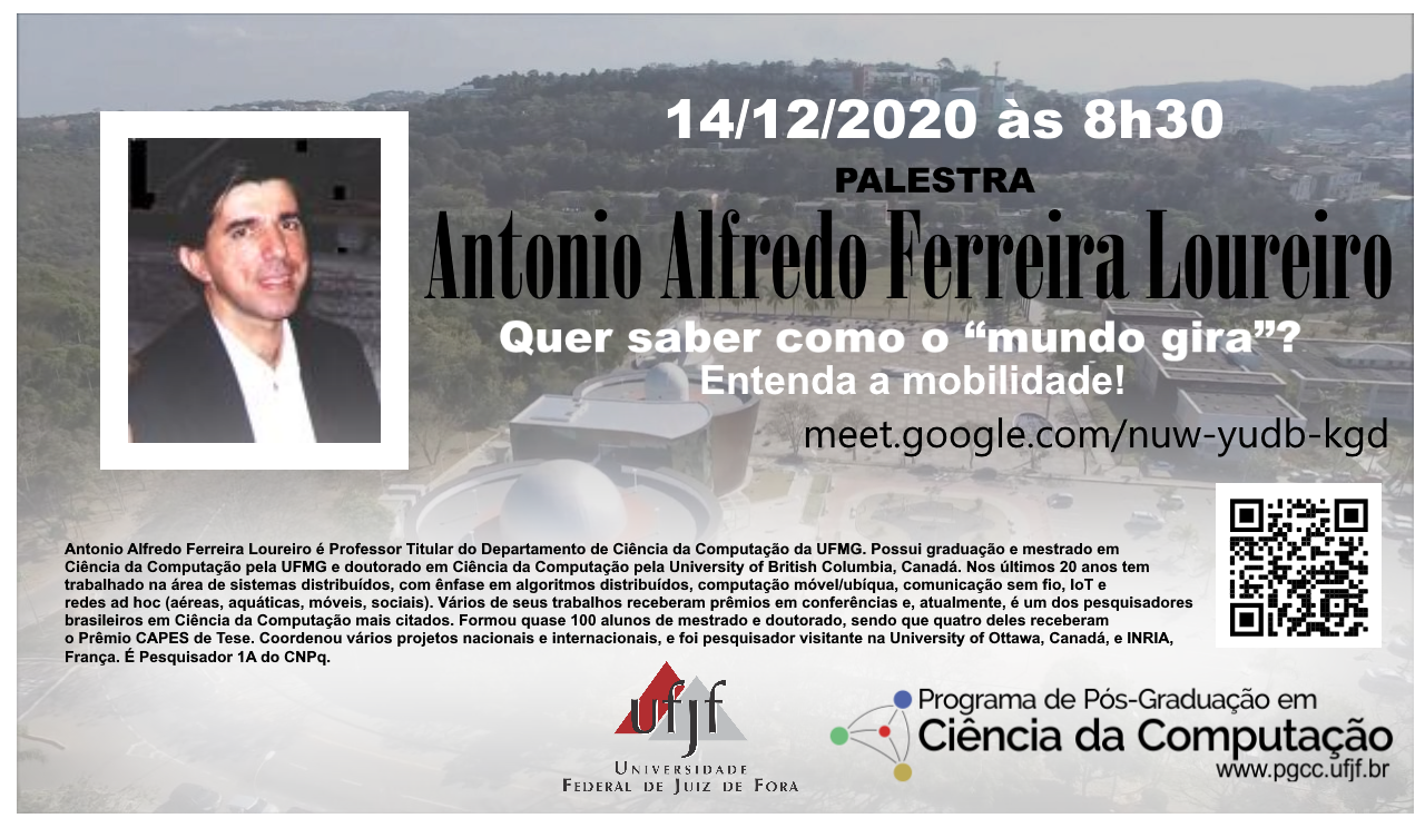 Palestra Prof. Antonio Alfredo Ferreira Loureiro