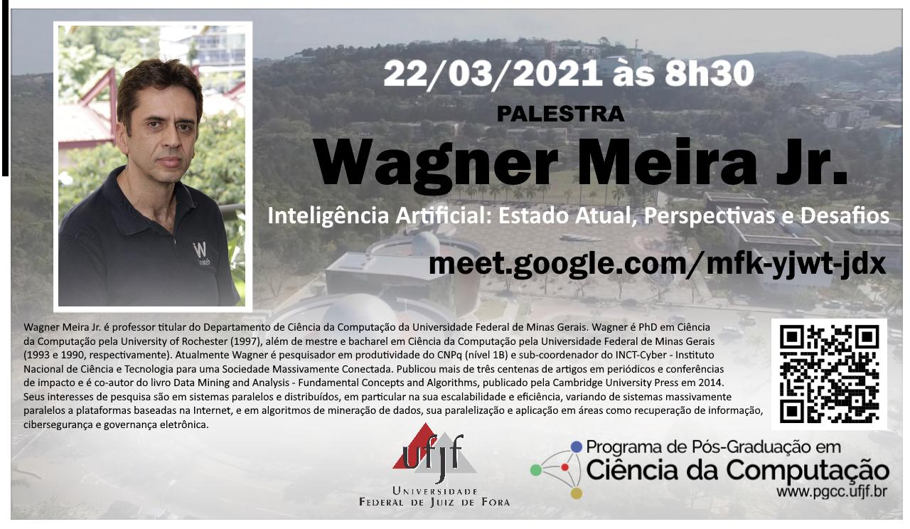 Palestra Wagner Meira Jr.