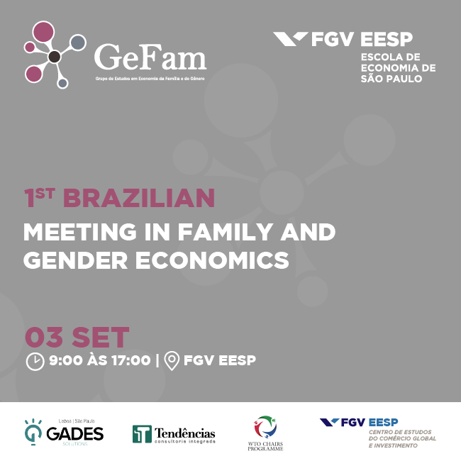 1º Brazilian Meeting in Family and Gender Economics