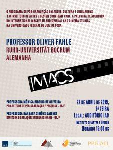 cartaz oliver imacs