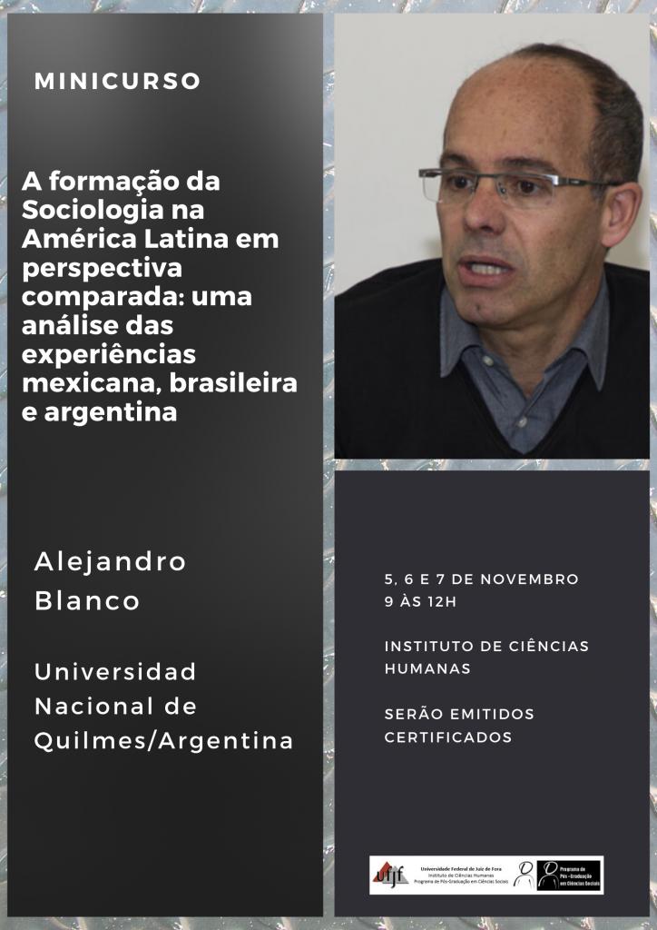 Minicurso Alejandro Blanco