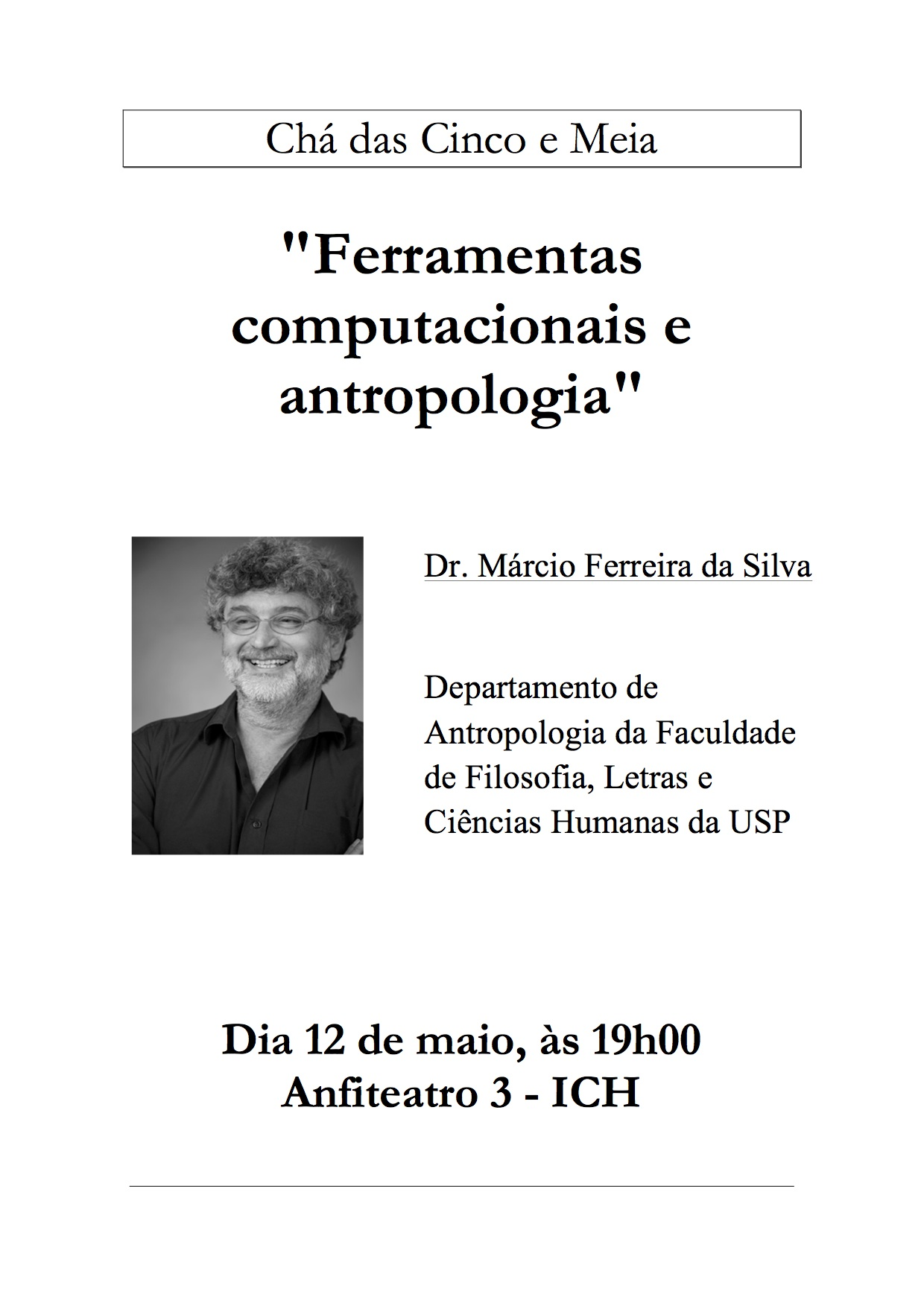 Cartaz Chá 12-05-14 Marcio Silva