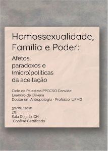 Cartaz palestra ppgcso