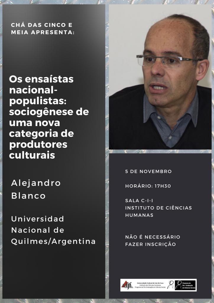 Cartaz Alejandro_Blanco_Chá