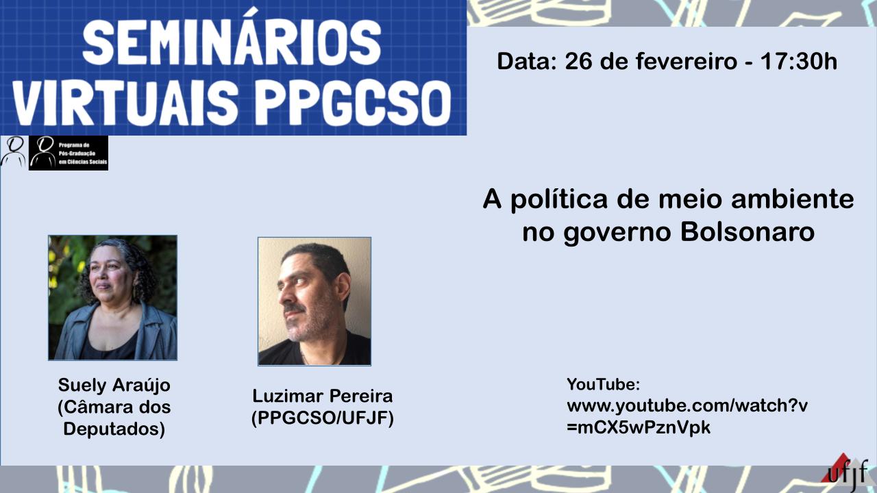 Seminários Virtuais PPG Ciências Sociais