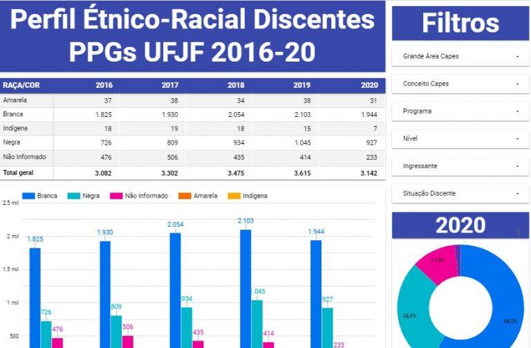 Perfil étnico-racial de pós-graduandos da UFJF