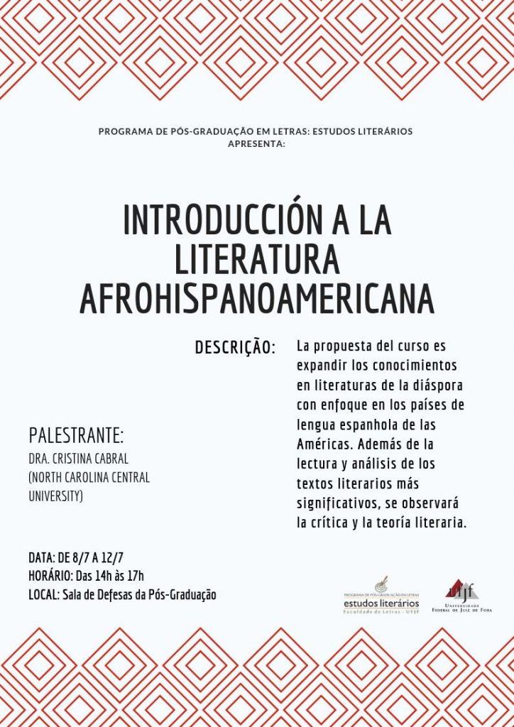 Introducción a la literatura afrohispanoamericana