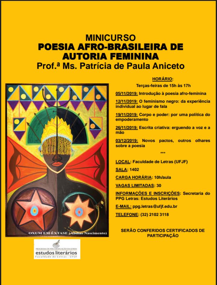 POESIA AFRO-BRASILEIRA DE AUTORIA FEMININA
