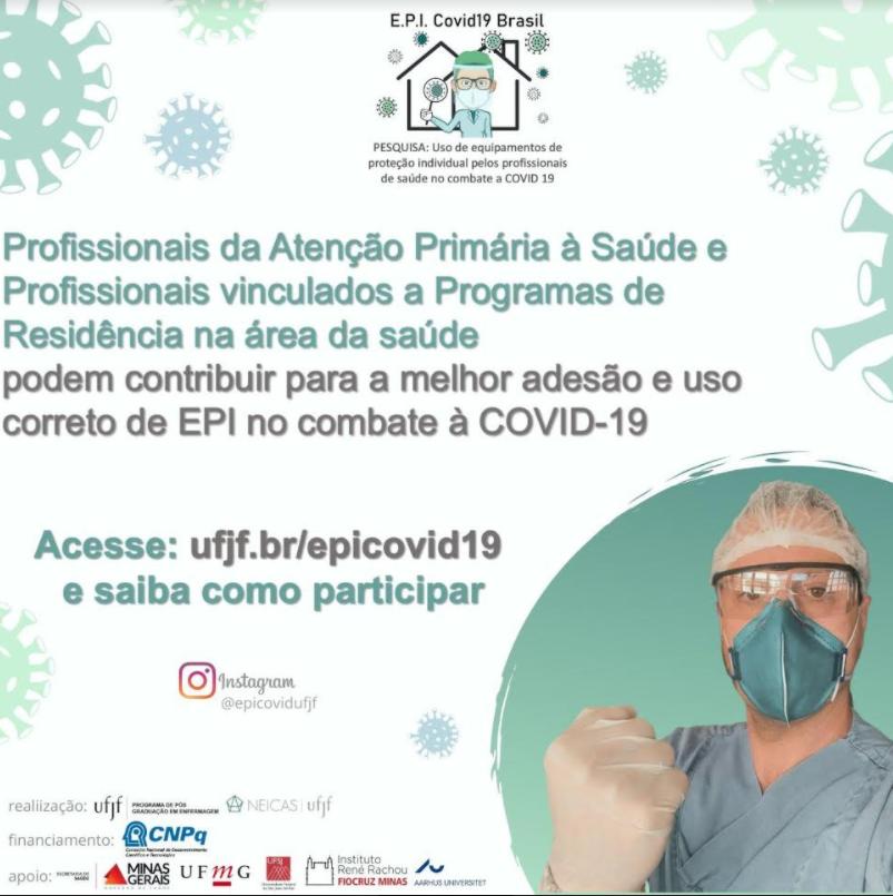 Uso de equipamentos de proteção individual pelos profissionais de saúde no combate à COVID-19