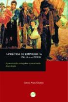 A Política de emprego na Itália e no Brasil