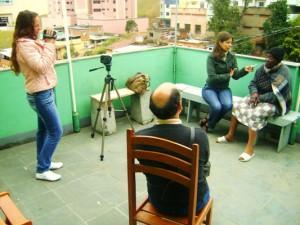 Em 2010, Fuser coordenou ação de comunicação no bairro Dom Bosco (Foto: Divulgação)