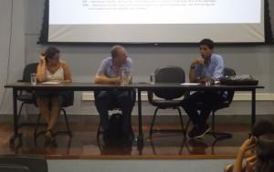 O procurador Dênis Franco apresentou a possibilidade de alteração de composição do Conselho (Foto: Nathália Nascimento/Proex)