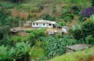 Uma das comunidades quilombolas onde projeto será realizado (Foto: Arquivo pessoal)