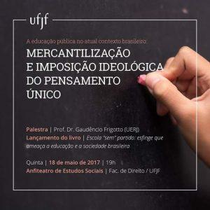 Palestra Prof Gaudencio Frigotto