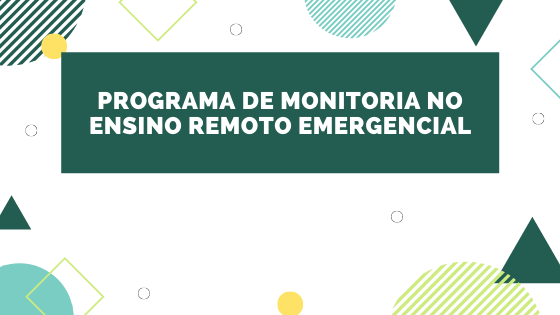 Programa de Monitoria no ERE