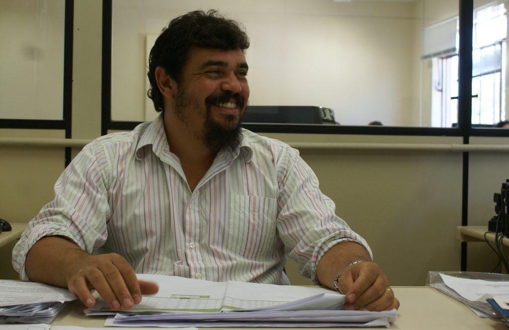 Wellington Coutinho da Silva, engenheiro civil da PROINFRA. (Foto: Jaime Ulisses)