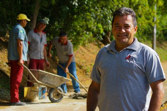 Heleno Garcia de Oliveira, supervisor de obras civis da Proinfra. (Foto: Jaime Ulisses)
