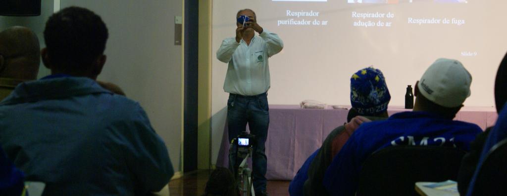 Reinaldo Araújo, servidor da PROINFRA que participou do evento. Foto: Adriely Furtado