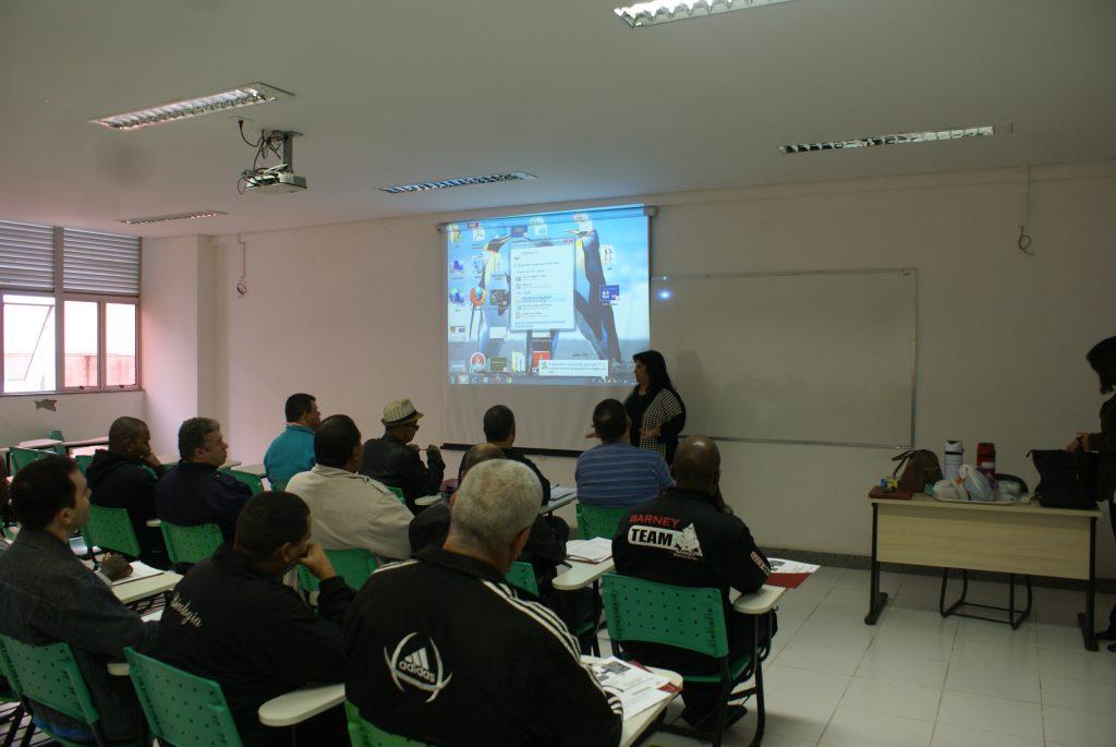 Na imagem, a Pró-reitora Adjunta Janezete A. Purgato Marques./Foto: Eduardo Neto.