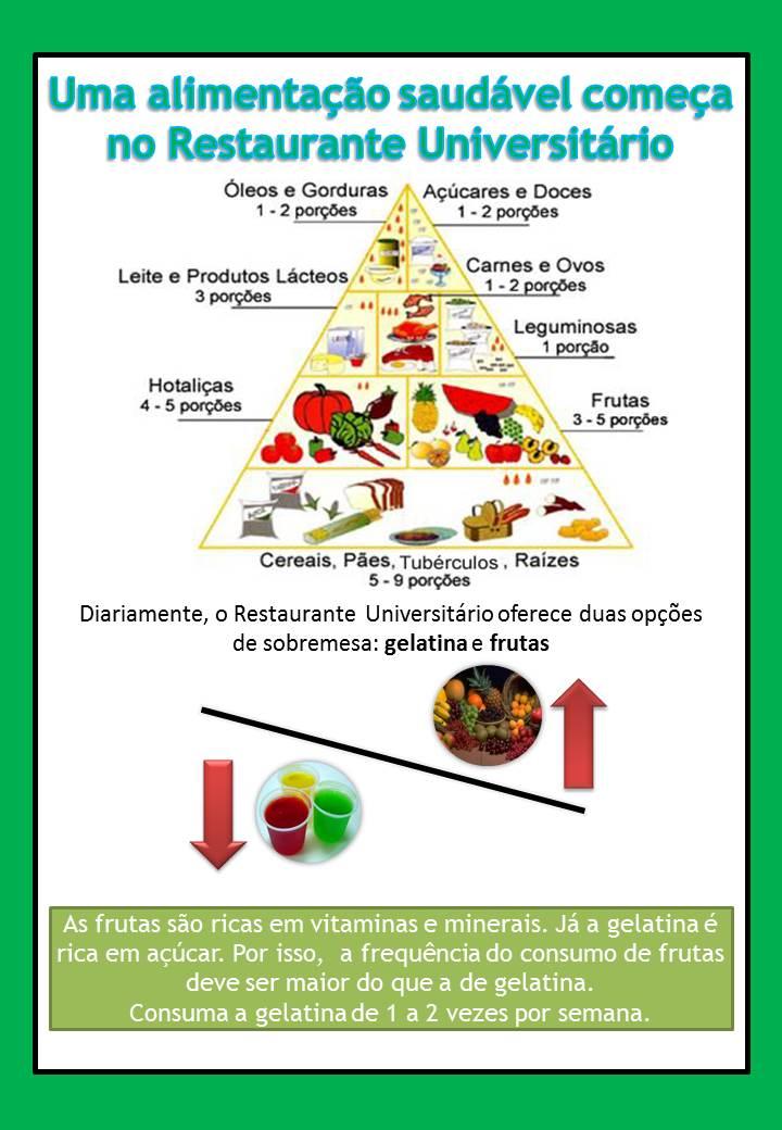 gelatina e frutas