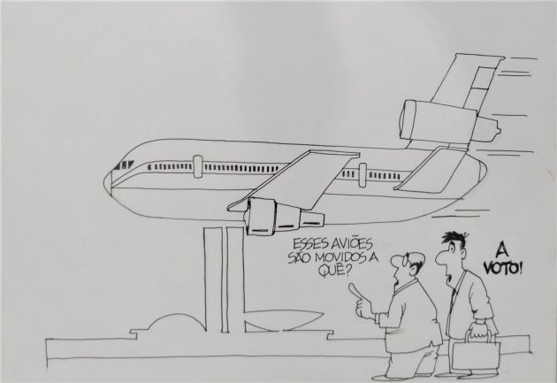 Avião_ charge Bello