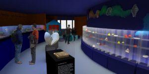 Projeto das futuras instalações do Museu de Malacologia no Centro de Ciências